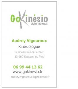 contact GoKinésio et tarif kinésiologie, prix